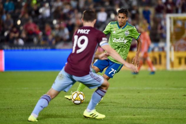 Seattle Sounders FC hosts the New York Red Bulls on Sunday at CenturyLink Field