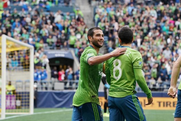 Midfielder Nicolas Lodeiro recorded a brace while midfielder Victor Rodr�?iguez made his return to Seattle Sounders FC