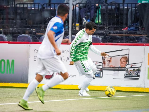 Dallas Sidekicks midfielder Arthur Ivofor