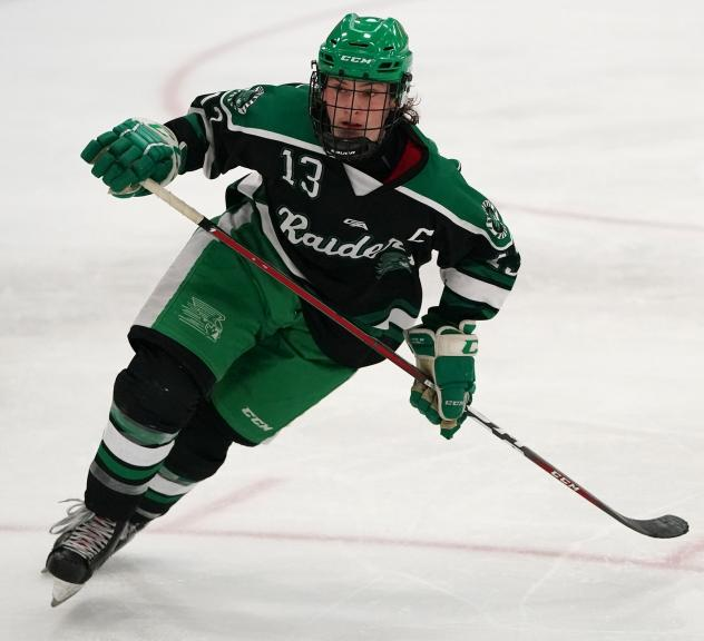 Forward Donte Lawso with Greenway (MN) High School