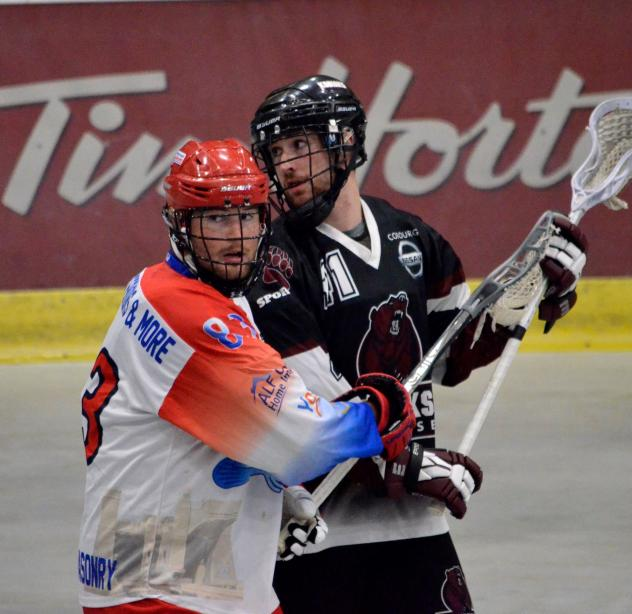 Defenseman Brett Coons with the Peterborough Lakers