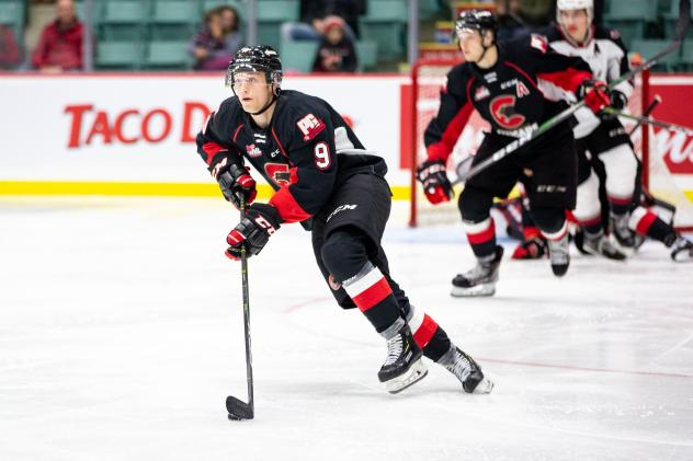 Prince George Cougars left wing Tyson Upper