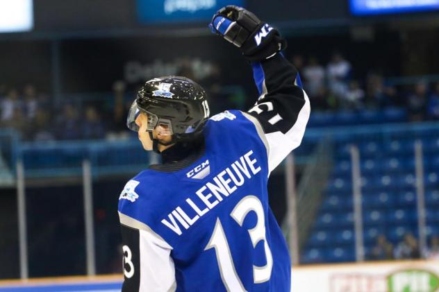 William Villeneuve of the Saint John Sea Dogs