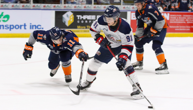 Saginaw Spirit vs. the Flint Firebirds