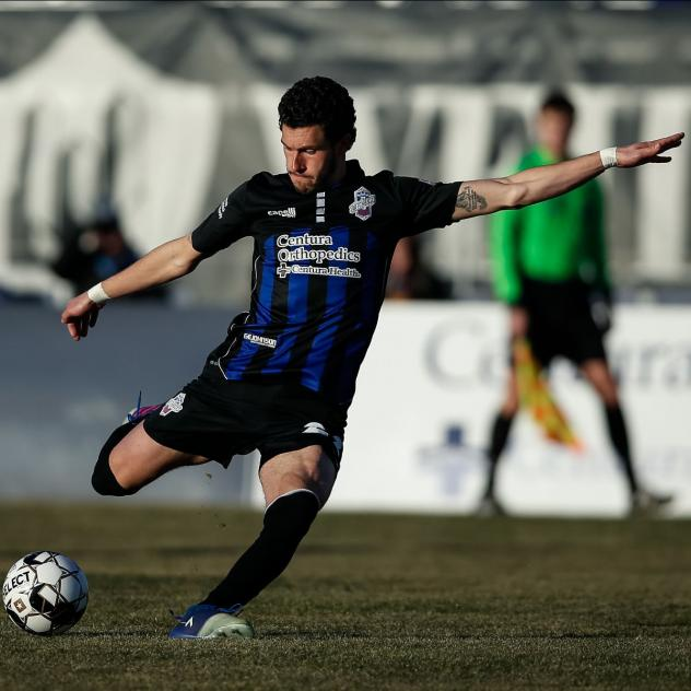 Colorado Springs Switchbacks FC in action