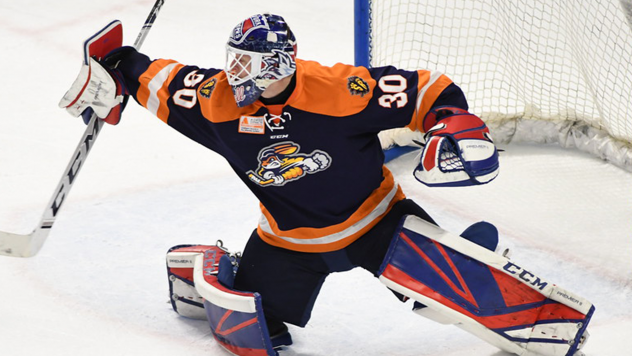 Greenville Swamp Rabbits goaltender Chris Nell