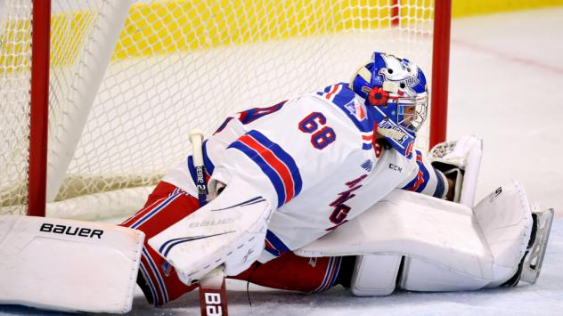 Kitchener Rangers goaltender Jacob Ingham