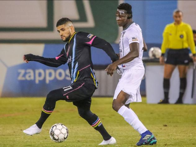 Irvin Raul Parra of Las Vegas Lights FC was selected to USL Championship's team