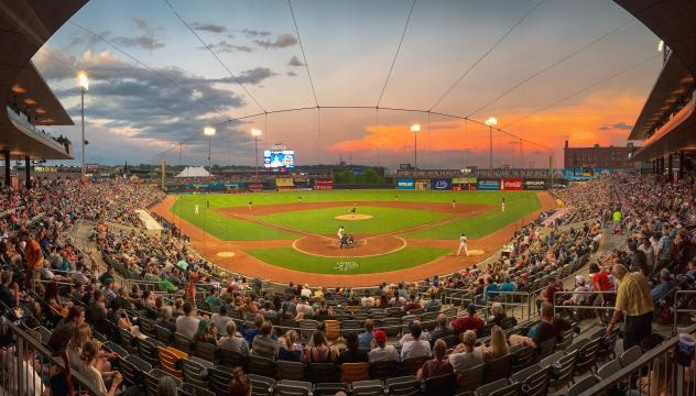 CHS Field, home of the St. Paul Saints