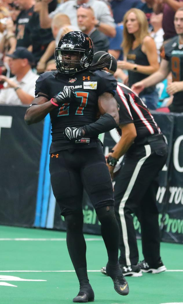 Arizona Rattlers defensive back Devin Cockrell