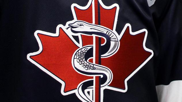 Kitchener Rangers Remembrance Day jersey logo