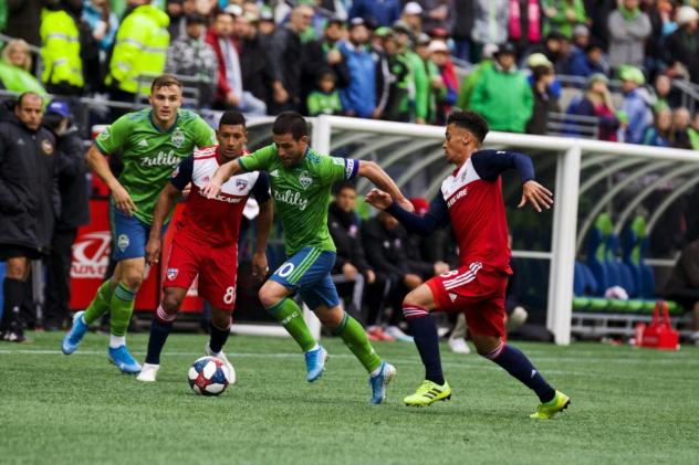 Seattle Sounders FC defeated FC Dallas in the First Round on Saturday at CenturyLink Field