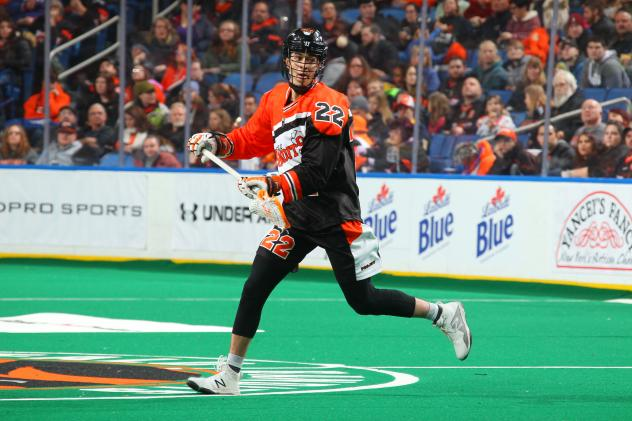 Buffalo Bandits forward Josh Byrne