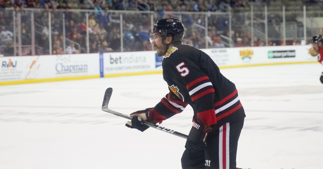 Indy Fuel defenseman Jack Ramsey