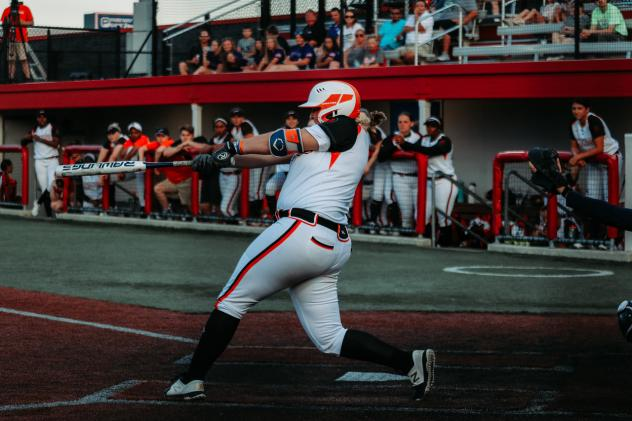 Chicago Bandits infielder Abbey Cheek