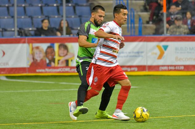 Victor Quiroz with the Ontario Fury