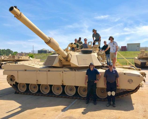 Fayetteville Woodpeckers pitchers visit Fort Bragg