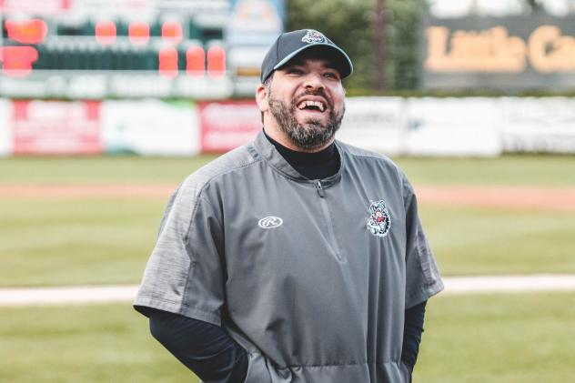 St. Cloud Rox field manager Augie Rodriguez