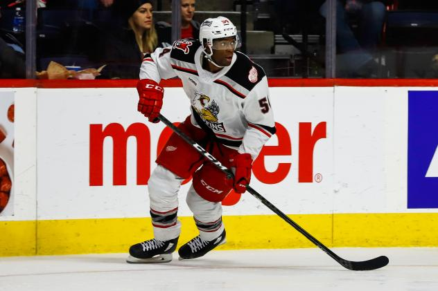 Grand Rapids Griffins forward Givani Smith