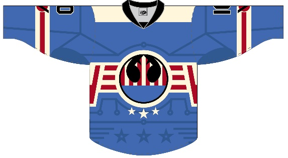 Rochester Americans Star Wars Night jersey
