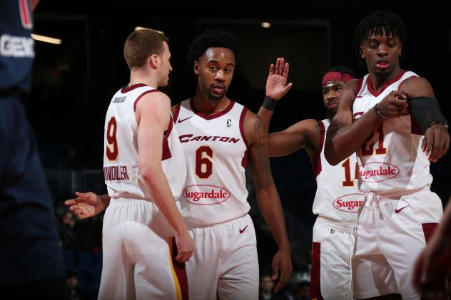 Dylan Windler and Lvi Randolph of the Canton Charge