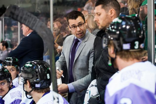 Texas Stars assistant coach Neil Graham