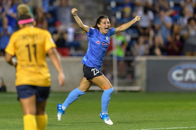 Brooke Elby of the Chicago Red Stars