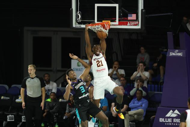 Canton Charge forward Tyler Cook