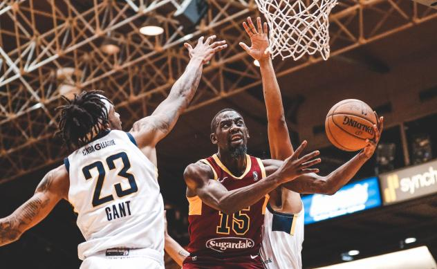 Canton Charge guard/forward Sir'Dominic Pointer vs. the Fort Wayne Mad Ants