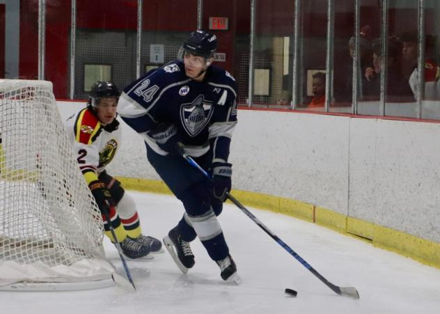 Wilkes-Barre/Scranton Knights forward Anthony Mastromonica