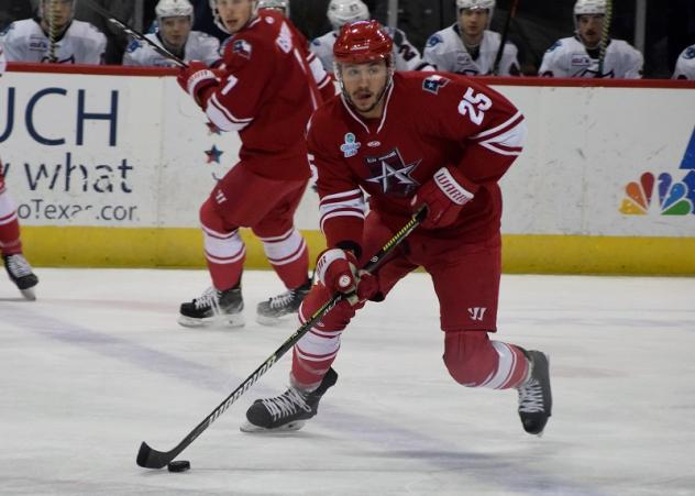 Gabe Gagne of the Allen Americans