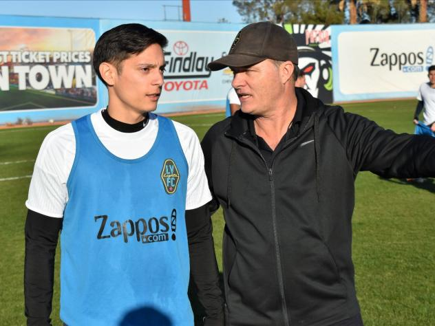 Eric Sanchez in Las Vegas Lights FC's Third Annual Open Tryouts
