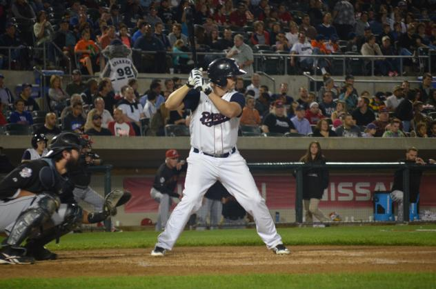 Somerset Patriots infielder Ty Wright