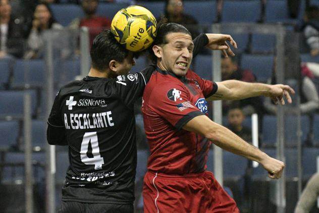 Ontario Fury battle the Monterrey Flash