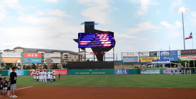 Rendering of new LED video board at Constellation Field