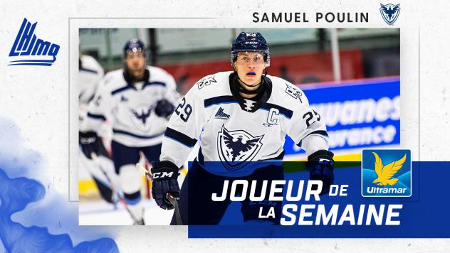 Samuel Poulin of the Sherbrooke Phoenix