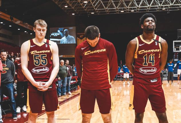 Canton Charge lineup vs. the Delaware Blue Coats