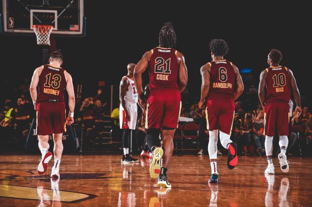 Canton Charge head up court against the Windy City Bulls
