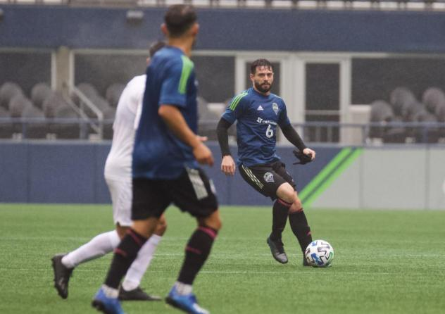 New Seattle Sounders FC designated player Joao Paulo vs. Sacramento Republic FC in preseason action