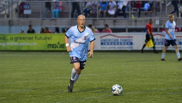 Louis Bennett with Forward Madison FC