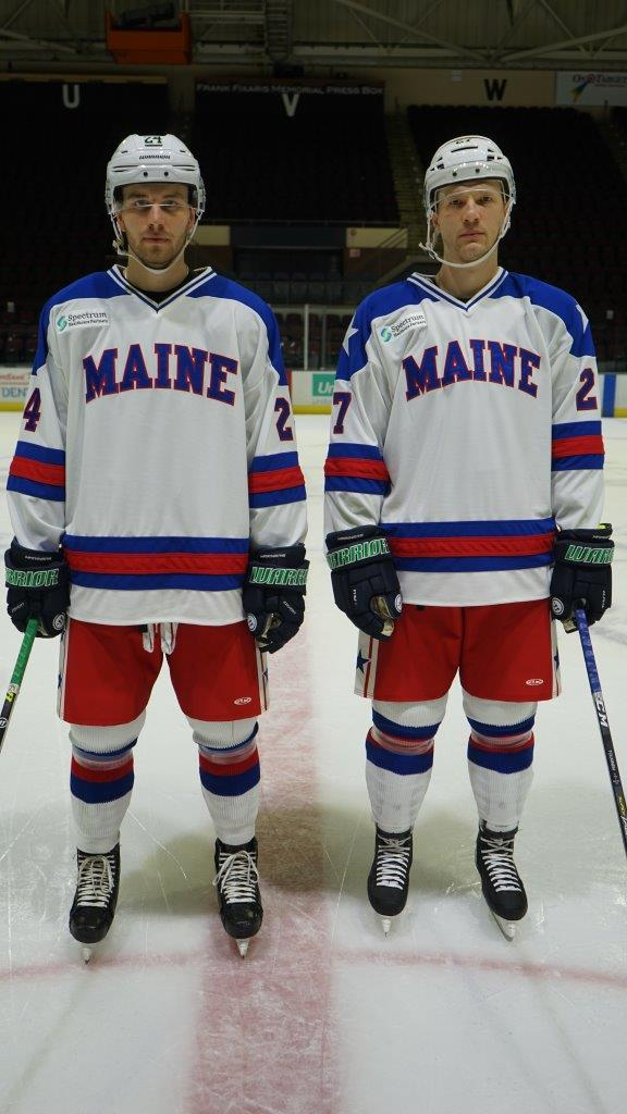 Maine Mariners 'Miracle on Ice' jerseys