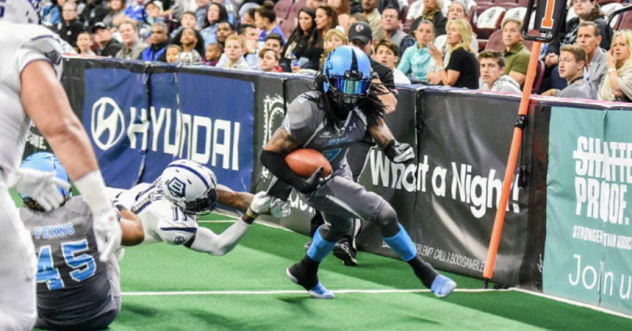 Wide receiver Darius Reynolds with the Philadelphia Soul