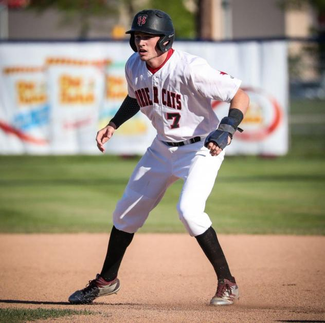 Thunder Bay Border Cats outfielder Jakob Newton