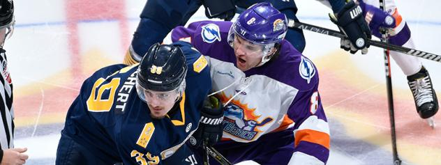 Orlando Solar Bears vs. the Norfolk Admirals