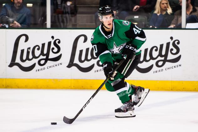 Texas Stars defenseman Taylor Fedun