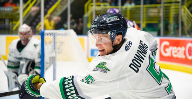 Defenseman Michael Downing with the Florida Everblades