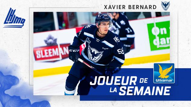 Xavier Bernard of the Sherbrooke Phoenix