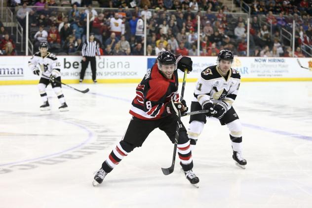 Christian Horn with the Indy Fuel (left)