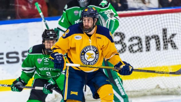 Forward Nick Hutchison with Canisius College