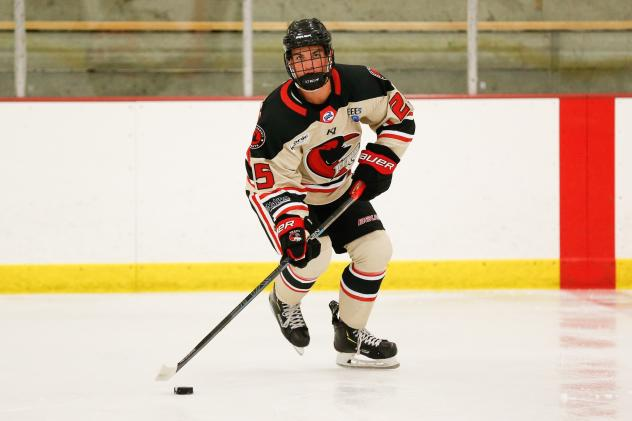 Corpus Christi IceRays forward Evan Carroll